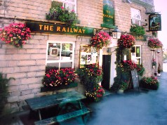 The Railway Inn is one of eight pubs on the Transpennine Real Al Trail